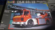 REVELL DLK 23-12 MERCEDES BENZ 1419F/1422F FIRE ENGINE 1/24 Model Car Mountain