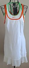 Nike Dri Fit Tennis Dress Sleveless Shelf Bra Size S 4/6 MSRP 95.00 NWT