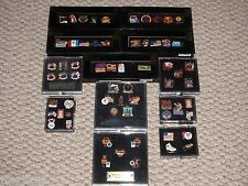 Imprinted Products 63 Piece Olympic Pin Set Collection 1996 1998 2004 Coca Cola
