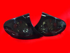 SMOKED INDICATORS FOR BMW E46 3 SERIES SALOON & ESTATE FACELIFT MODEL 01-05