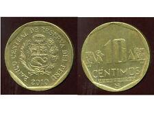 PEROU  10  centimos 2010  ( bis )