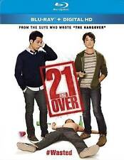 21 and Over NEW Blu-Ray disc/case/cover ONLY-no digital/slip comedy