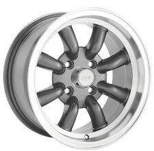15X7 KONIG REWIND WHEELS 4X114.3MM +0 GRAPHITE Fits Datsun 240z 260z 280z