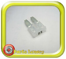FUSE Micro2 Style 9mm 25 Amp White or Clear FOR MAZDA BT50 UR 2015-On