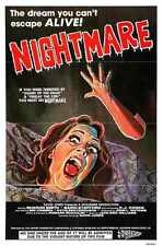 Nightmare 1981 Poster 02 A2 Box Canvas Print
