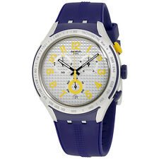 Swatch Irony Xlite Chronograph Grey Dial Mens Watch YYS4014