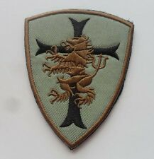 Navy seal team 6 Devgru Lion cross crusader shield US Tactical SWAT   Patch