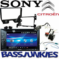 Citroen DS3 Sony DVD MP3 Bluetooth USB Car Stereo Double Din Steering Wheel Kit