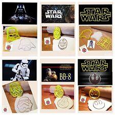 R2d2 Chewbacca Darth Vader Storm Trooper bb8 Rebel Decorazione Torte Cookie Cutter