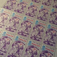 FEUILLE SHEET SPORT POUR TOUS N°2020 x25 1978 NEUF ** LUXE MNH