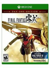 FINAL FANTASY TYPE 0 HD DAY ONE EDITION XBOX ONE NEW! CLASSIC RPG! BRUTAL WAR