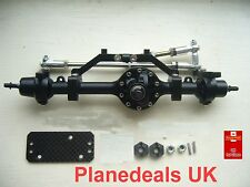 Complete Alloy Front Axle for 1/10 Rock Crawler D90 Landrover and SCX10   P6.