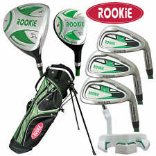 New fireform rookie boys junior golf clubs - Green for ages 7 to 9