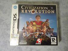 SID MEIER'S CIVILIZATION REVOLUTION - NINTENDO DS DSi 3DS 2DS ITALIANO COMPLETO
