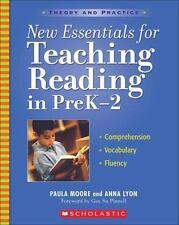 New Essentials for Teaching Reading in PreK-2: Comprehension, Vocabulary,