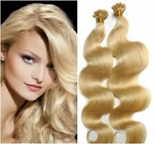 "Pre-Bonded U-Tip For Fusion -18"" Euro Remy Hair Extensions 100 Strands Any Color"