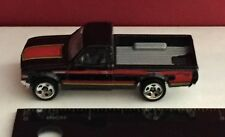 LOOSE! !   'EXCLUSIVE ISSUE'  DATSUN 620 PICKUP  BLACK  HOT WHEELS