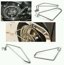 Motorcycle saddlebags Saddle Bags Brackets For Harley Davidson Sportster 1200
