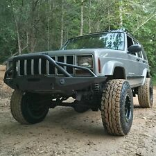 Jeep Cherokee XJ Front Bumper-w/ Winch Mount & Light Tabs