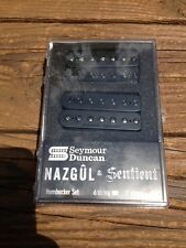 NEW Seymour Duncan Nazgul / Sentient 7 String Pickup Set Black 11108-96-B7