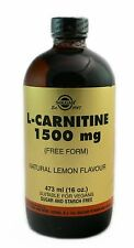 Solgar L-Carnitine 1500 MG Natural Lemon Flavor - 16FL Oz ENERGY, METABOLISM