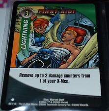 First Aid! # 102/131 X-Men Trading Playing Cards Games TCG Common Xmen MINT