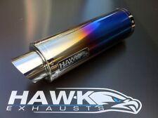 Hawk Benelli Tornado 2002 + GP3 Moto GP Color Titanio Carreras Tubo Escape