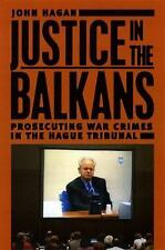 Justice in the Balkans: Prosecuting War Crimes in the Hague Tribunal (-ExLibrary