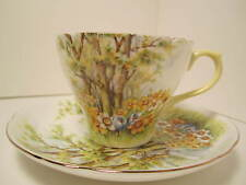 """SHELLEY ENGLISH CHINA TEA CUP & SAUCER """" DAFFODIL"""" EXC CONDITION"""