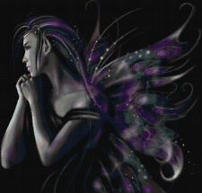 LAVENDER FAIRY # 4 - COUNTED CROSS STITCH CHART