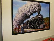 Norfolk Western heading for Chattanooga steam Mallet   Railroad Archives TI