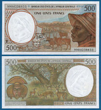 CENTRAL AFRICAN STATES / C.A.R. 500 Francs UNC P.301F f
