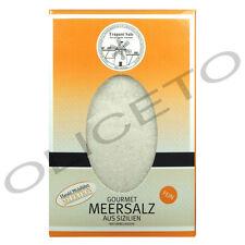 Gourmet Meersalz Trapani Salz fein 500 g Sale Marino di Trapani fino
