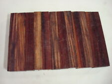 40 goncalo alves tigerwood turning squares 3/4 x 3/4 x 5 inches long kiln dried