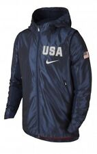BNWT USAB NIKE REVOLUTION HOODED Men's Jacket Size MEDIUM (802020-451)