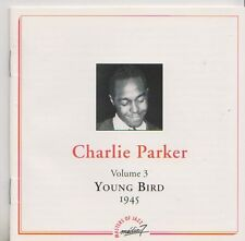CHARLIE PARKER CD MASTERS OF JAZZ VOLUME 3  YOUNG BIRD 1945