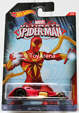 Hot Wheels Marvel Ultimate Spider-Man 2015 Hammered Coupe 1/64 Rare Die-Cast Car