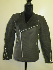 "*MINT* VINTAGE BELSTAFF ""REBEL"" WAXED COTTON BIKER JACKET 70'S CAFE RACER 36"""
