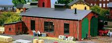 Auhagen H0 11403: Engine shed two stall (Kit)