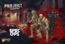SPEC OPS TEAM - PROJECT Z EXPANSION SET - WARLORD GAMES - SENT FIRST CLASS