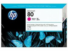 Genuine Autentico Hewlett Packard HP 80 Cartuccia di Inchiostro Magenta 350ml c4847a
