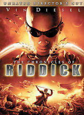 RIDDICK DvD VIN DIESEL Unrated THANDIE NEWTON Chronicle KARL URBAN Keith David 2