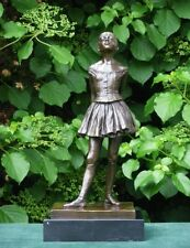 Bronze sculpture Little Ballet Dancer by Edgar Degas statue Girl Impressionism