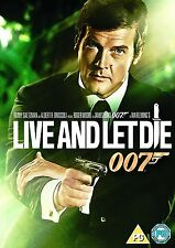 LIVE AND LET DIE (JAMES BOND) - DVD - REGION 2 UK