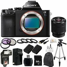 Sony Alpha a7S Mirrorless Digital Camera With Sony FE 28-70mm F3.5-5.6 Lens Kit!