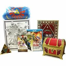 Nintendo Wii U ZELDA Musou Hyrule Warriors Treasure Box Limited Edition FREE EMS