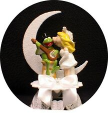 MISS PIGGY KERMIT FROG Wedding Cake Topper Muppet top Moonlight Funny pig