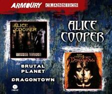 Alice Cooper - Brutal Planet / Dragontown - 2 CDs - NEU/OVP