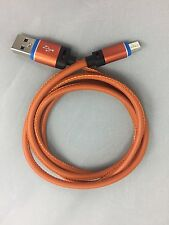 Quality Pu Leather Micro Usb Charger For UMi Super - Orange