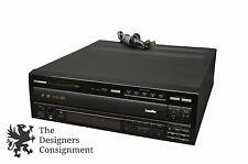 Pioneer CLD-M90 5 Disc Multi-Play CD CDV/LD 1 Bit DLC Laserdisc Player Sound